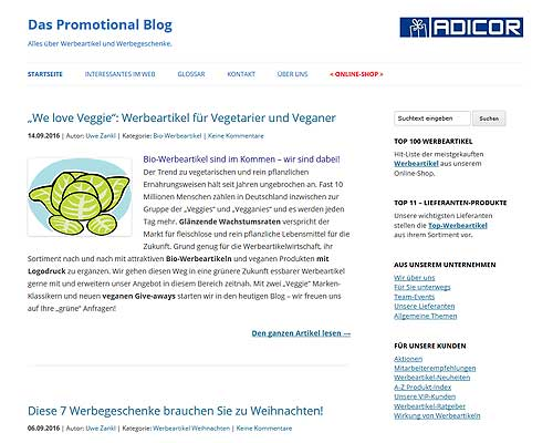 promotional-blog.de | Werbeartikel Blog