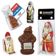 Werbeartikel Weihnachtsmänner