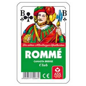 Rommé/Canasta/Bridge als Werbeartikel drucken | Artikel-Nr. AS-6007