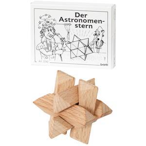 Der Astronomenstern - Holzpuzzle bedrucken - Werbeartikel Spielzeug mit Logo   Artikel-Nr. BA-102242