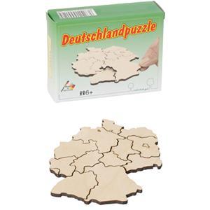 Deutschlandpuzzle - Holzpuzzle bedrucken - Werbeartikel Spielzeug mit Logo | Artikel-Nr. BA-102359