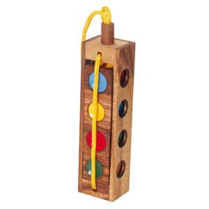 Ampelspiel - Holzpuzzle bedrucken - Werbeartikel Spielzeug mit Logo   Artikel-Nr. BA-107259