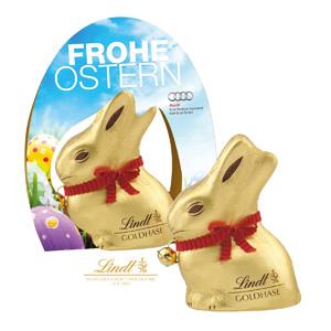 Exklusive Genussmomente - Osterhasen mit Logo - Werbeartikel Ostern | Artikel-Nr. CD-94551