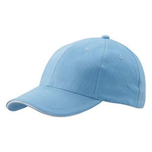 6 Panel Sandwich Cap - Basecaps bedrucken - Baseballcaps - Werbeartikel Caps | Artikel-Nr. DB-MB024