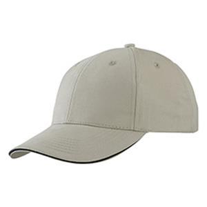 Light Brushed Sandwich Cap - Basecaps bedrucken - Baseballcaps - Werbeartikel Caps   Artikel-Nr. DB-MB6541
