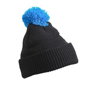 Pompon Hat with Brim mit Logo | Artikel-Nr. DB-MB7967