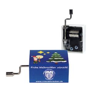 Mini-Drehorgel bedrucken - Weihnachts-Ideen mit Logo - Werbegeschenke Weihnachten | Artikel-Nr. EF-1059