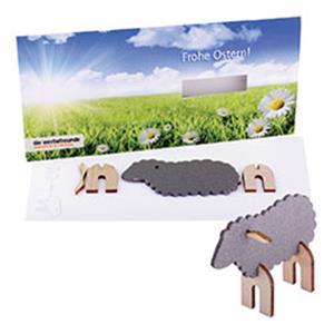 Steckfiguren-Karte Ostern als Werbeartikel | Artikel-Nr. EF-1075