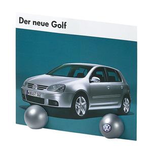 Notizhalter Magnet-Kugel bedrucken - Werbemagnete mit Logo - Werbeartikel Magnete | Artikel-Nr. ES-04139