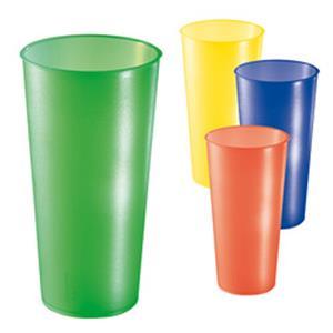 Trinkbecher Colour 0,5 l - Werbeartikel Kunststoffbecher bedrucken mit Logo   Artikel-Nr. ES-05088