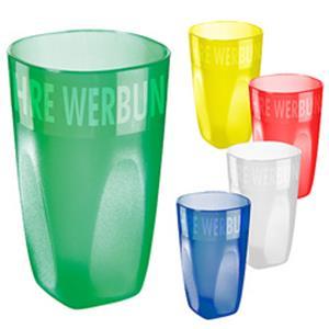 Trinkbecher Maxi Cup - Werbeartikel Kunststoffbecher bedrucken mit Logo | Artikel-Nr. ES-05097