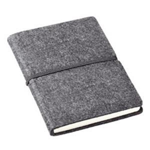 Notizbuch Filz bedrucken - Notizbücher mit Logo - Werbeartikel Büro | Artikel-Nr. ES-08092