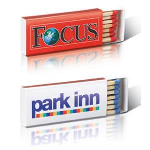 Zündholzschachtel BX1 bedrucken - Streichholzschachteln mit Logo - Werbeartikel Streichhölzer   Artikel-Nr. EV-BX1