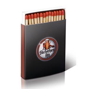 Zündholzschachtel BX5 Skala bedrucken - Streichholzschachteln mit Logo - Werbeartikel Streichhölzer | Artikel-Nr. EV-BX5