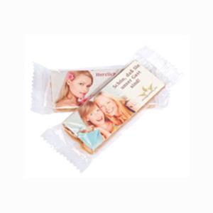 Florentiner-Plätzchen als Riegel bedrucken - Werbeartikel mit Logo | Artikel-Nr. FB-1095