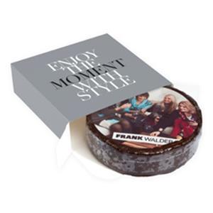 Runde Torte in Aktionsbox bedrucken - Torten mit Logo - Werbeartikel   Artikel-Nr. FB-3073