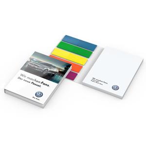 Haftnotizen Bern bedrucken - Haftnotiz mit Logo - Werbeartikel Büro | Artikel-Nr. GN-HN019