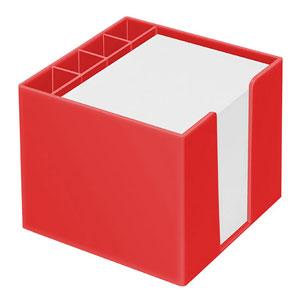 Zettelspeicher mit Köcher - Zettelbox bedrucken - Werbeartikel Zettelboxen   Artikel-Nr. LA-7000-KPC