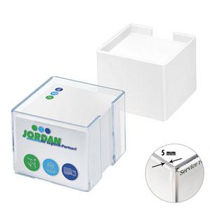 Zettelspeicher dickwandig - Zettelbox bedrucken - Werbeartikel Zettelboxen | Artikel-Nr. LA-7029-PC