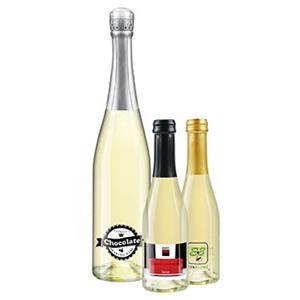 Secco d'Italia Flasche bedrucken - Sektflaschen mit eigenem Etikett - Sekt mit Logo - Werbeartikel Getränke   Artikel-Nr. TL-1054