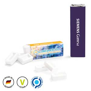 Pfefferminzriegel mit Logo - Werbeartikel Pfefferminz bedrucken | Artikel-Nr. SW-1009