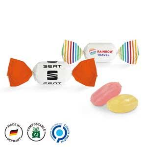 Creativ-Bonbon als Werbeartikel bedrucken, Werbemittel aus dem Sortiment Bonbons / Essen & Trinken