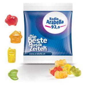 Trolli Minitüte Standardformen als Werbeartikel bedrucken, Werbemittel aus dem Sortiment Fruchtgummi / Essen & Trinken