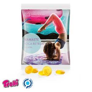 Trolli Fruchtgummi Maxitüte als Werbeartikel bedrucken, Werbemittel aus dem Sortiment Fruchtgummi / Essen & Trinken