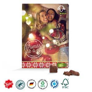 Classic Wand-Adventskalender Ind. als Werbeartikel bedrucken, Werbemittel aus dem Sortiment Adventskalender / Weihnachten