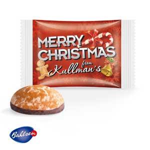 Mini-Lebkuchen Bahlsen als Werbeartikel bedrucken, Werbemittel aus dem Sortiment Lebkuchen / Weihnachten
