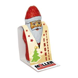 Gubor Nikolaus als Werbeartikel bedrucken, Werbemittel aus dem Sortiment Weihnachtsmänner / Weihnachten
