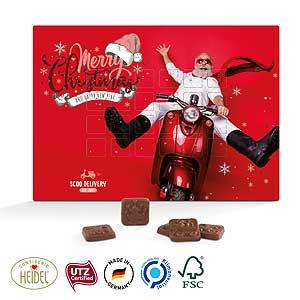 Design Wand-Adventskalender als Werbeartikel bedrucken, Werbemittel aus dem Sortiment Adventskalender / Weihnachten