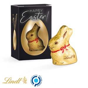 Oster-Box Lindt als Werbeartikel bedrucken, Werbemittel aus dem Sortiment Osterhasen / Ostern