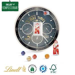 Adventskalender rund als Werbeartikel bedrucken, Werbemittel aus dem Sortiment Adventskalender / Weihnachten