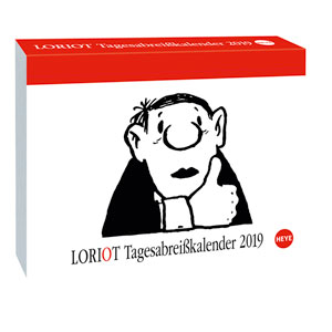 Kalender Loriot Tagesabreisskalender 2019 Als Werbeartikel Bedrucken