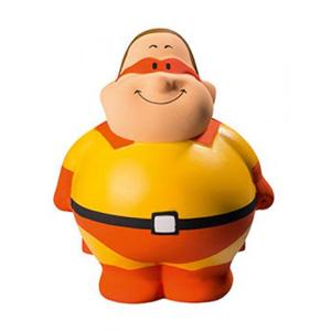 Super Bert - Knautschfigur Herr Bert® mit Logo - Werbeartikel Spielzeug | Artikel-Nr. MB-24285