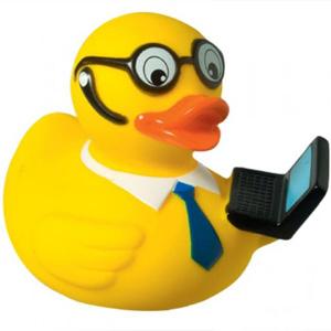Quietsche-Ente Laptop bedrucken | Artikel-Nr. MB-31081