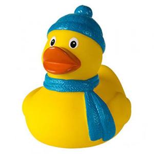 Quietsche-Ente Winter als Werbeartikel | Artikel-Nr. MB-31135