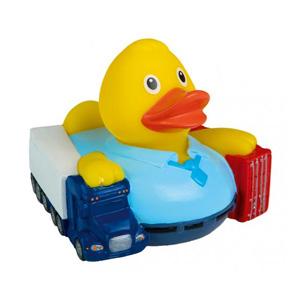 Quietsche-Ente Spediteur als Werbeartikel | Artikel-Nr. MB-31235