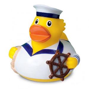 Quietsche-Ente Seemann als Werbemittel   Artikel-Nr. MB-32064