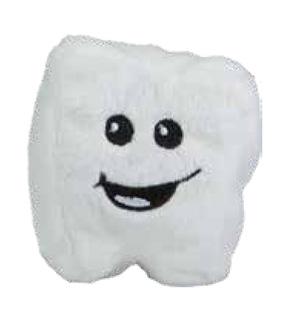 Schmoozies Zahn bedrucken - Displayreiniger mit Logo - Werbeartikel Spielzeug | Artikel-Nr. MB-60774