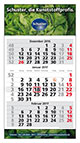 Werbeartikel 3-Monatskalender Plus deutsch bedrucken