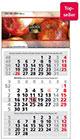 Werbeartikel 3-Monatskalender Basic int. bedrucken