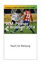 Werbeartikel Taschenplaner WM 2014, Werbegeschenke bedrucken