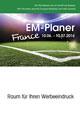 Taschenplaner EM 2016 Basic bedrucken, Werbeartikel mit Logo aus dem Sortiment EM Planer / Fanartikel Sport