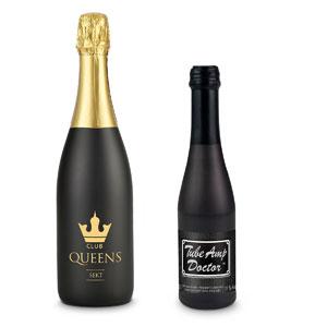Sekt Cuvee Trocken bedrucken - Sektflaschen mit eigenem Etikett - Sekt mit Logo - Werbeartikel Getränke | Artikel-Nr. RD-2K904