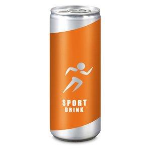Sport Drink bedrucken - Getränkedosen mit Logo - Werbeartikel Getränke   Artikel-Nr. RD-2P010