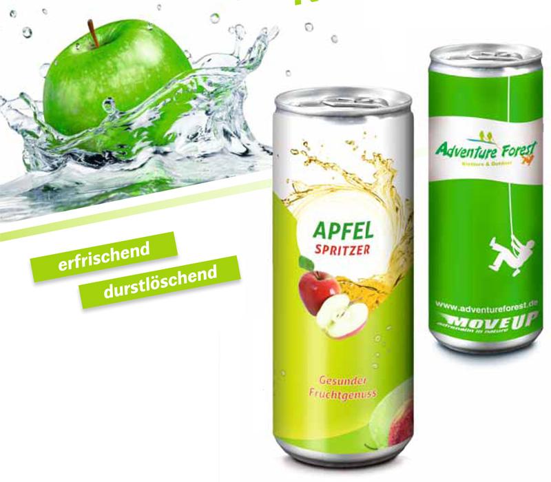 Apfelspritzer als Werbeartikel bedrucken   ADICOR