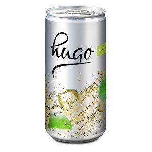Hugo bedrucken - Sektdosen mit eigenem Etikett - Sekt mit Logo - Werbeartikel Getränke | Artikel-Nr. RD-2P030