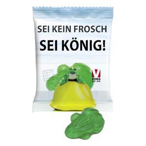 HARIBO Frosch als Werbeartikel bedrucken, Werbemittel aus dem Sortiment Schaumzucker / Essen & Trinken
